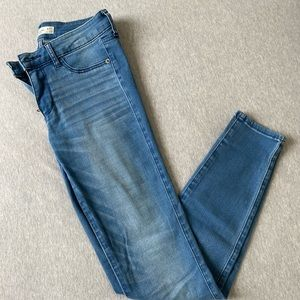 Abercrombie & Fitch High Rise Skinny Jeans W27 L29